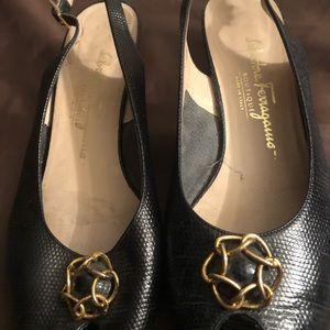 "Salvatore Ferragamo ""Boutique""  heels"